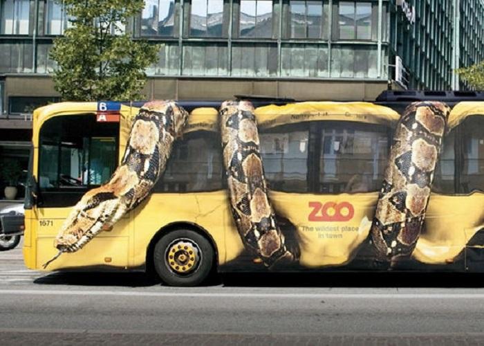 خلاقانه ترین تبلیغات های چریکی داخل شهر